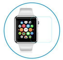 Smart Watch Screen Protectors Australia - 3D Curved Tempered Glass For Apple Watch 3 2 Full Screen Protector Cover 38 42mm 9H Glass Film for Smart Watch