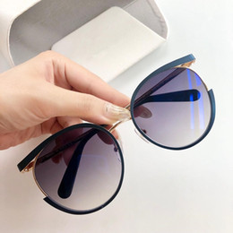 golden package UK - 2019 Sunglasses For Unisex Fashion Oval design UV Protection Lens Coating Mirror Lens Color Plated Frame Come With Package 615