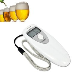 $enCountryForm.capitalKeyWord Australia - Portable Digital Alcohol Breath Tester Professional Breathalyzer Alcohol Meter Analyzer Detector With Mini LCD Display