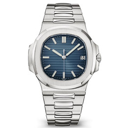 $enCountryForm.capitalKeyWord Australia - 2019 Top Nautilus Watch Men Automatic Luxury Watch 5711 Silver Strap Blue Stainless Mens Mechanical Orologio di Lusso Wristwatch