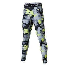 $enCountryForm.capitalKeyWord Australia - New Kids Camouflage Compression Running Traiing Pants Sports Bodybuilding Fitness Tracksuit Elastic Leg Jogging Pants Tight