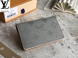 Yangzizhi New Titanium Laser Taschengeldbörse M63233 Lange Wallet Kette Wallets Compact Purse Abend Clutches Key im Angebot