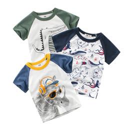 $enCountryForm.capitalKeyWord Australia - Children Cartoon Animal T-shirts 2019 Summer Baby Boys & Girls Cotton Tops Tees Kids Summer Clothes Short Sleeve T-Shirt For