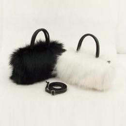 $enCountryForm.capitalKeyWord Australia - Lady Girl Pretty Cute Faux Rabbit Fur Handbag Women Small Bag Kawaii Shoulder Messenger Bag Tote Fashion Women Handbag
