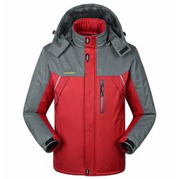 Waterproof Parkas Australia - Winter Jacket Men Women Plus Thick Velvet Parka 6xl - 9xl Warm Sportoutdoor Waterproof Windbreaker Chaquetas Hombre Coat