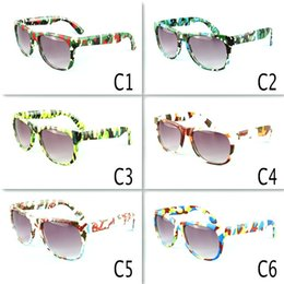 48b51eed2 Retro Kids Camouflage Sunglasses Oculos Boys Girls Eyeglasses Children  Sports Eyewear Baby Gafas UV400 6colors MMA2060