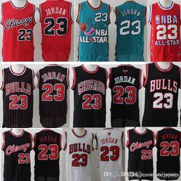 fb7f91875698 Retro Mesh AJ 23 Michael Jersey Men s  15 Carter Basketball Jerseys Black  White Red