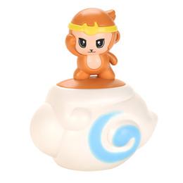 TW2004070 Summer Toys Baby Sprinkler Cloud baby bathroom toy monkey Shape Spray Water on Sale