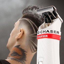 Potente Professional Hair Trimmer elettrico di precisione 0,1 millimetri tagliatore di taglio dei capelli da barba della casa della macchina utensile Barber in Offerta