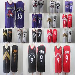 Toronto Kawhi 2 Leonard Men s Raptors Vince 15 Carter Tracy 1 McGrady Jersey  Kyle 7 Lowry Serge 9 Ibaka Basketball Jerseys 098521184