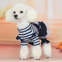 Cheap Cute Tutus Australia - Summer Pet clothe Puppy Small Dog Cat Clothes for cheap Tutu Dress Princess Skirt Apparel Costume cute dog clothes xl Lace dresses