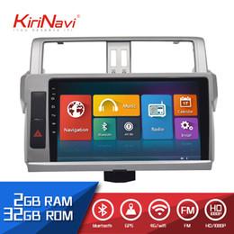 "$enCountryForm.capitalKeyWord Australia - Kirinavi Car Radio 10.2"" Touch screen 2 Din auto android for Toyota Prado 2014 2017 dvd audio multimedia Navigation player"