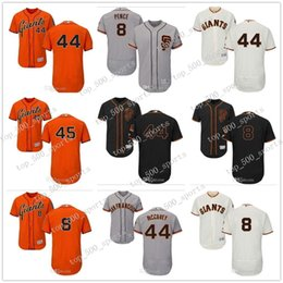custom baseball jerseys women 2020 - Custom Men women youth Kids Jersey #8 Hunter Pence 44 Willie McCovey 45 Matt Moore Home Orange Grey White Jerseys discou