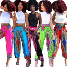 Red Wide Leg Pants Australia - CM533 cross-border supply foreign trade fashion new bohemian totem digital printing wide leg beach pants women's clothing