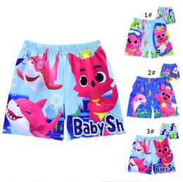 $enCountryForm.capitalKeyWord Australia - Boys Swim Trunks Kids Designer Clothes Baby Shark Cartoon Swimming Trunks swim Shorts Swimwear Summer Beach Shorts 3 Designs A6401