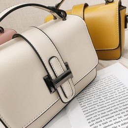 yellow purse bag Australia - Bag for Women 2020 Luxury Handbag Women Bags Designer Solid Leather Yellow White Pink Shoulder Bag Purse Sac A Main High Quality.#NNA