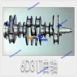 $enCountryForm.capitalKeyWord Australia - New 6D31 crankshaft for Mitsubishi diesel engine 6D31 crank shaft rebuild spare parts with good quality