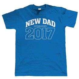 New Dad 2017 Mens T Shirt