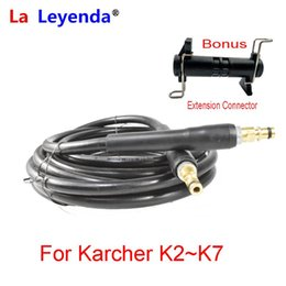 hose connecting Canada - LaLeyenda 6 10 15 Meters Quick Connect With Car Washer Extension Hose Gun Pressure Washer Extension Tube For Karcher K2-K7