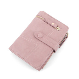 $enCountryForm.capitalKeyWord NZ - New Brand Women Wallet Fashion Short Design Purse Two Fold Multifunction Small Students Wallet For Girls Female Purse