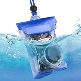 High Quality Dslr Camera Australia - New Arrival High Quality PVC Waterproof Camera Case DSLR SLR Camera Underwater Storage Dry Bag Transparent Pouch
