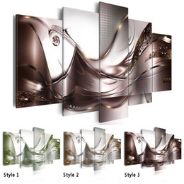 life size pictures Australia - Hot Sell( No Frame ) Canvas Print Modern Fashion Wall Art the Abstract lines for Home Decoration Choose Color & Size