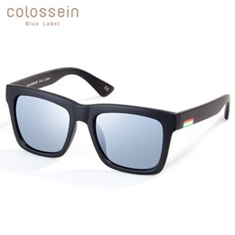 classic eyewear Australia - COLOSSEIN Sunglasses Women Men Polarized Lens Fashion Glasses Classic Style Adult Popular 2018 New Eyewear Outdoor SH190924