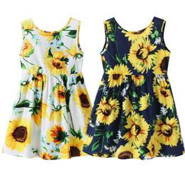 $enCountryForm.capitalKeyWord UK - 2019 Urkutoba Baby Girls Flower Spring Summer Dress Sleeveless Kids Bow Tie Party Sundress Princess Dress Clothes (White, 1-2 Years)