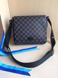 Designer men briefcase online shopping - 2019 Brand Designer Men Genuine Leather Handbag Black Briefcase Laptop Shoulder Bag Messenger Bag cm