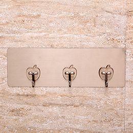 $enCountryForm.capitalKeyWord Australia - Kitchen Bathroom Seamless Self Adhesive Sticky Hooks Wall Hanger for Towel Key