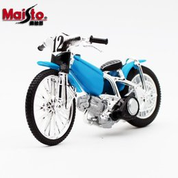 toy plastic motorcycles Canada - Maisto Diecast Alloy Speedway Racetrack Motorcycle Model Toy, 1:18 Scale, Ornament, for Christmas Kid Birthday Boy Gift Collecting, 2-1