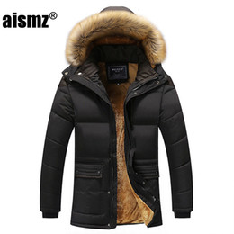 $enCountryForm.capitalKeyWord Australia - Aismz New Winter Men Down & Parkas Cotton-padded Jackets Men' s Casual Down Jackets Thicken Coats OverCoat Warm Clothing Big 5XL T190912