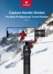 iphone gimbal UK - Funsnap capture 3-Axis Tripod Heads Stabilizer Handheld Gimbal Stabilizer for Smartphone iPhone GoPro 7 6 5 Capture EKEN Yi Action camera