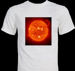 Astronomy Telescopes Australia - Sun Solar Flare astronomy science telescope image T-shirt Funny free shipping Unisex Tshirt top