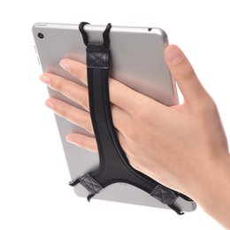 security tablets UK - TFY Security Anti-drop Hand Strap Holder Finger Grip for 7 to 8 Inch Tablet and E-readers, Black