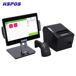 terminal barcode NZ - 2019 Quad Core Smart Pos Terminal With 10 Inch Touch Screen Scanner Printer For Restaurant Store