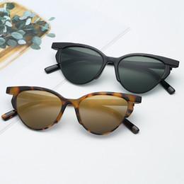 $enCountryForm.capitalKeyWord Australia - Fashion Sexy Cat Eye Sunglasses Women Brand Designer Leopard Sun Glasses Retro Ladies Cateye Sunglass UV400 Shades Eyewear