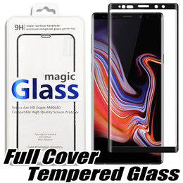 3d glasses lg online shopping - For Iphone XS Max XR X Full Cover Curved Tempered Glass Samsung S10E S10 S8 S9 Plus LG V40 Screen Protector Glasses
