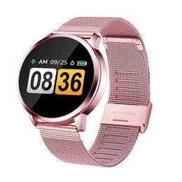 $enCountryForm.capitalKeyWord Australia - Q8 Smart Bracelet Smart Watch IP67 Waterproof Colorful Smart Bracelet Heart Rate Blood Pressure Wristband Watch health