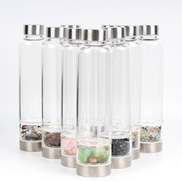 $enCountryForm.capitalKeyWord Australia - New Product Creative Natural Quartz Crystal Glass Water Bottle Gravel Irregular Stone Cup Point Wand Healing Hydrotherapy Cup