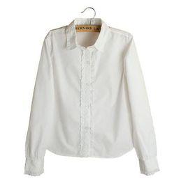 25c4f60e7 Los 2019 Nuevos niños de estilo de primavera y otoño Camiseta blanca Mangas  largas para estudiantes ropa de niña