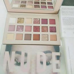 Date NOUVEAU NUDE 18 couleurs fard à paupières Shimmer Matte fard à paupières Beauté Maquillage Palette Fard À Paupières 18 couleurs Marque En stock