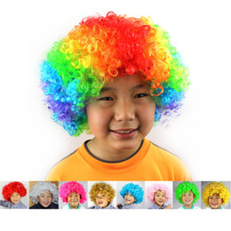 $enCountryForm.capitalKeyWord Australia - Carnival Party Wigs for Masquerade Halloween Christmas Dress Clown Costume Cosplay Football Fans Children Adult Party Hats
