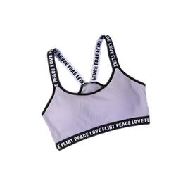 c69870e4763dc Pink Bra Hot Ladies UK - Hot Girls Sexy Sports Bra Training Running  gymnastics Yoga Women