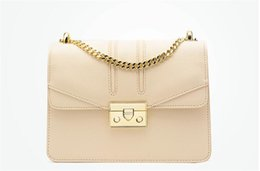 Color Leather Bags Australia - 2019 Fashion Women Chain Flap Bags Famous Lady Shoulder Bags PU Leather Designer Handbags Pure Color Crossbody High quality Messenger Bags