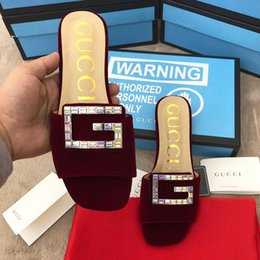Genuine Leather Insole Australia - 2019 spring high version fashion womens summer simple real leather insole soft and comfortable flat sandals womens slippers with original qe