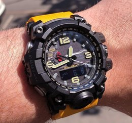 $enCountryForm.capitalKeyWord Australia - GWG Luxury Designer Mens Watch Waterpoor LED Analog Digital Sport Wholesale Wrist Watches Compass Thermometer All Pointer Work Shock Watches