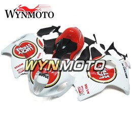 Abs Plastic For Hayabusa Australia - Motorcycle Fairings For Suzuki GSXR1300 Hayabusa 1997 1998 1999 2000 2001 2002 2003 2004 2005 2006 2007 Red White ABS Plastic Hulls Cowlings