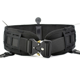 Inner Belt Australia - Airsoft Tactical Belt Molle Girdle Hunting Wargame Paintball Padded Belts Military Army Waist Support Inner & Outer Combat Belt #377808