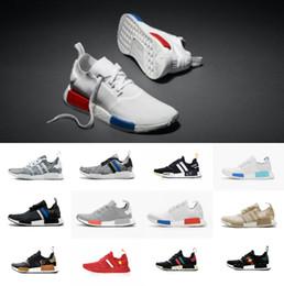 $enCountryForm.capitalKeyWord Australia - Hot Sale 2018 High Quality OG off Japan Triple Black White Tri-Color Grey Men Women Primeknit Casual shoes 5-11